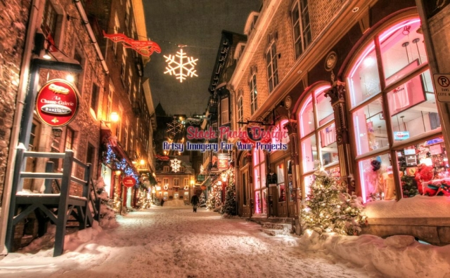 Old-Quebec-City-District-Alley-in-HDR