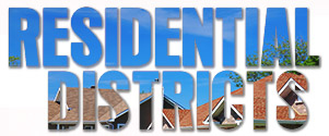 Residential Districts